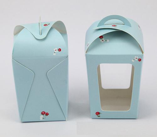กล่องมูส สีฟ้า